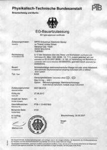 E200 Tip Onayı